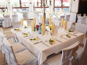 Sala weselna z noclegiem to komfort gości