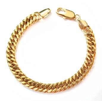 Złota biżuteria dla mężczyzn