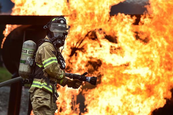 profesjonalny mundur strażacki