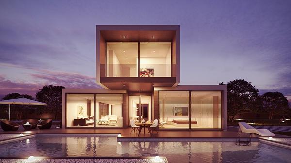 Styl glamour stosowany w projektowaniu pomieszczeń